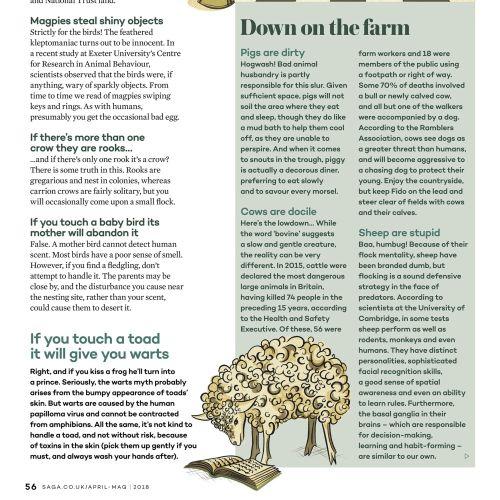 Editorial down on the farm