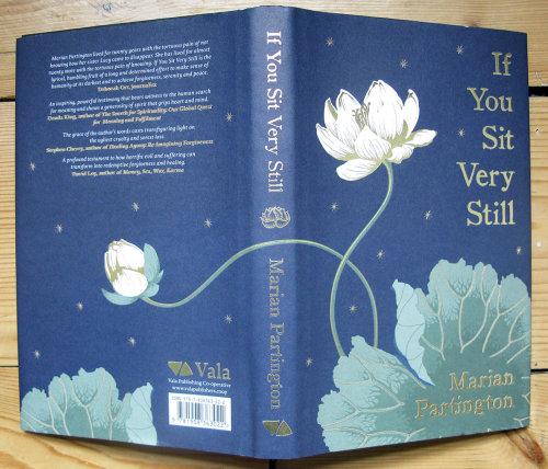 If you sit vert still book cover design