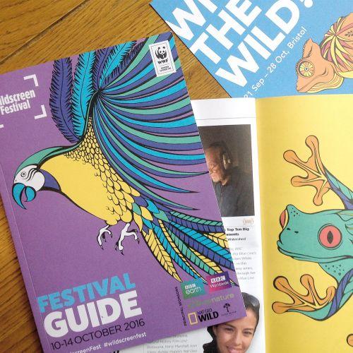 Book cover festival guide