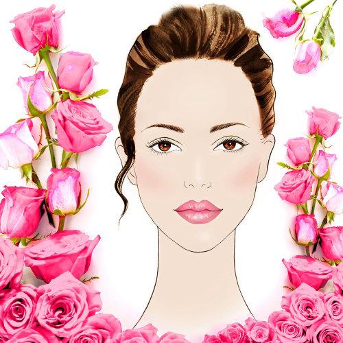 Portrait de mode belle femme
