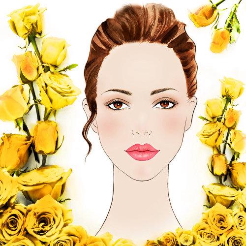 Fashion Portrait of female face