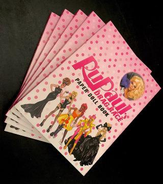 Cover book design of RuPaul's Drag Race