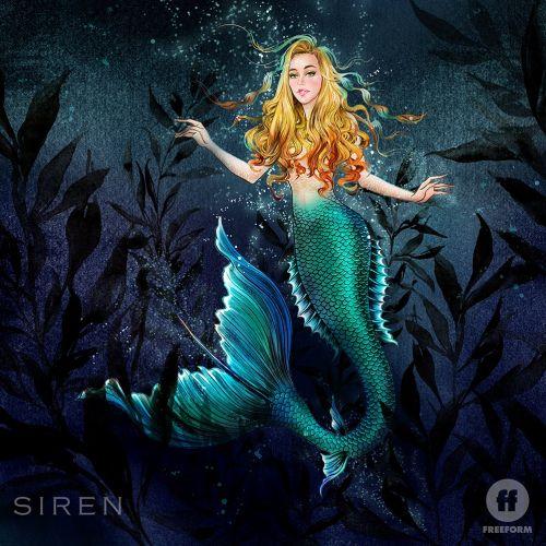 Lady fish fancy dress costume illustration