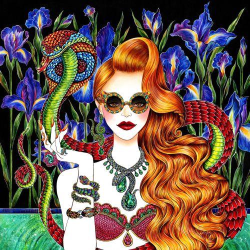 Sunny Gu Ilustrador internacional de moda y belleza. LA