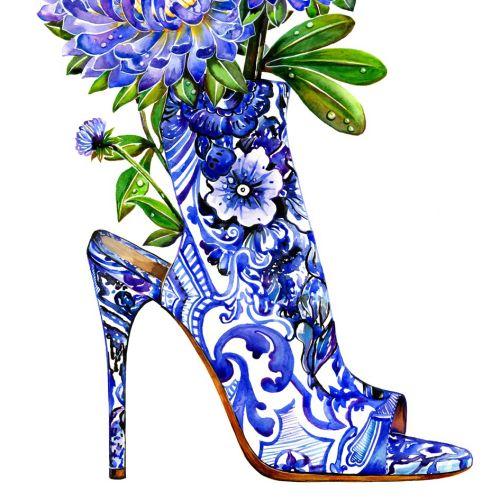 Sunny Gu Illustratrice internationale de mode et de beauté. LA