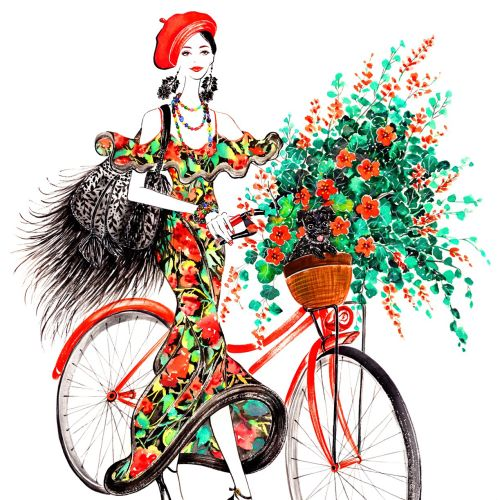 lifestyle bike girl