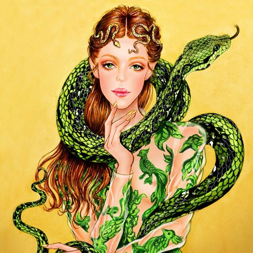 Sunny Gu International Fashion & Beauty illustrator. L.A
