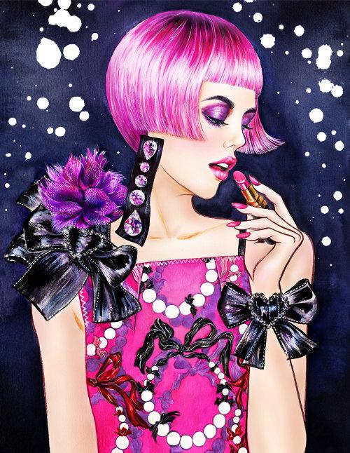 Design de tenue de perles par Sunny GU