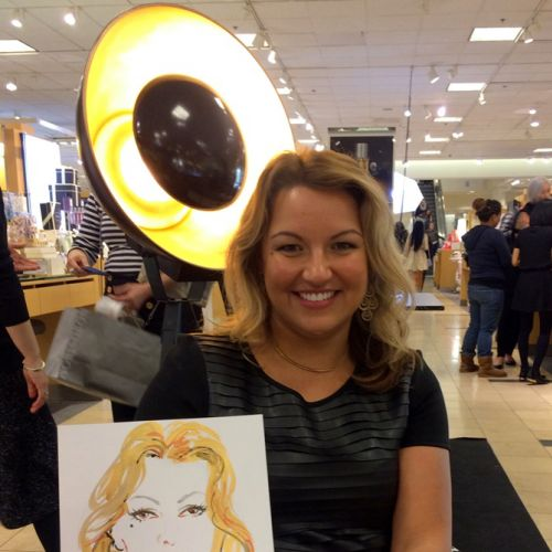 Sunny Gu Live Event Drawing Belleza