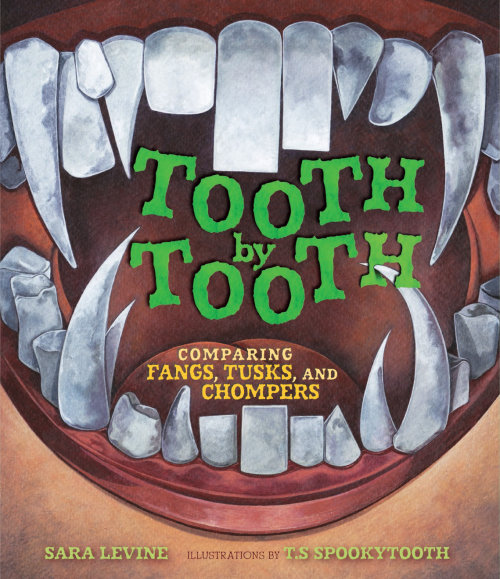 Front cover design for Tooth by Tooth book