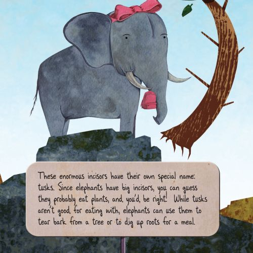 Children's book illustration by T.S Spookytooth
