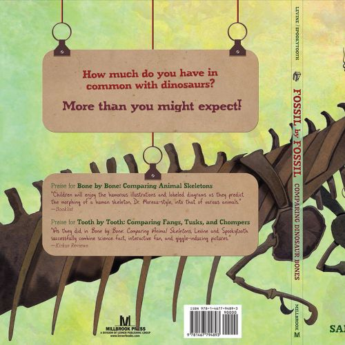 Dinosaur illustration for Lerner Books