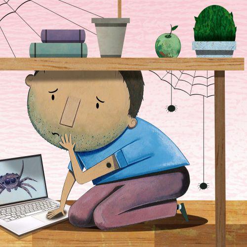 T.S Spookytooth Ilustrador infantil galardonado. Londres