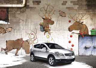 Illustration For Nissan Qashqai