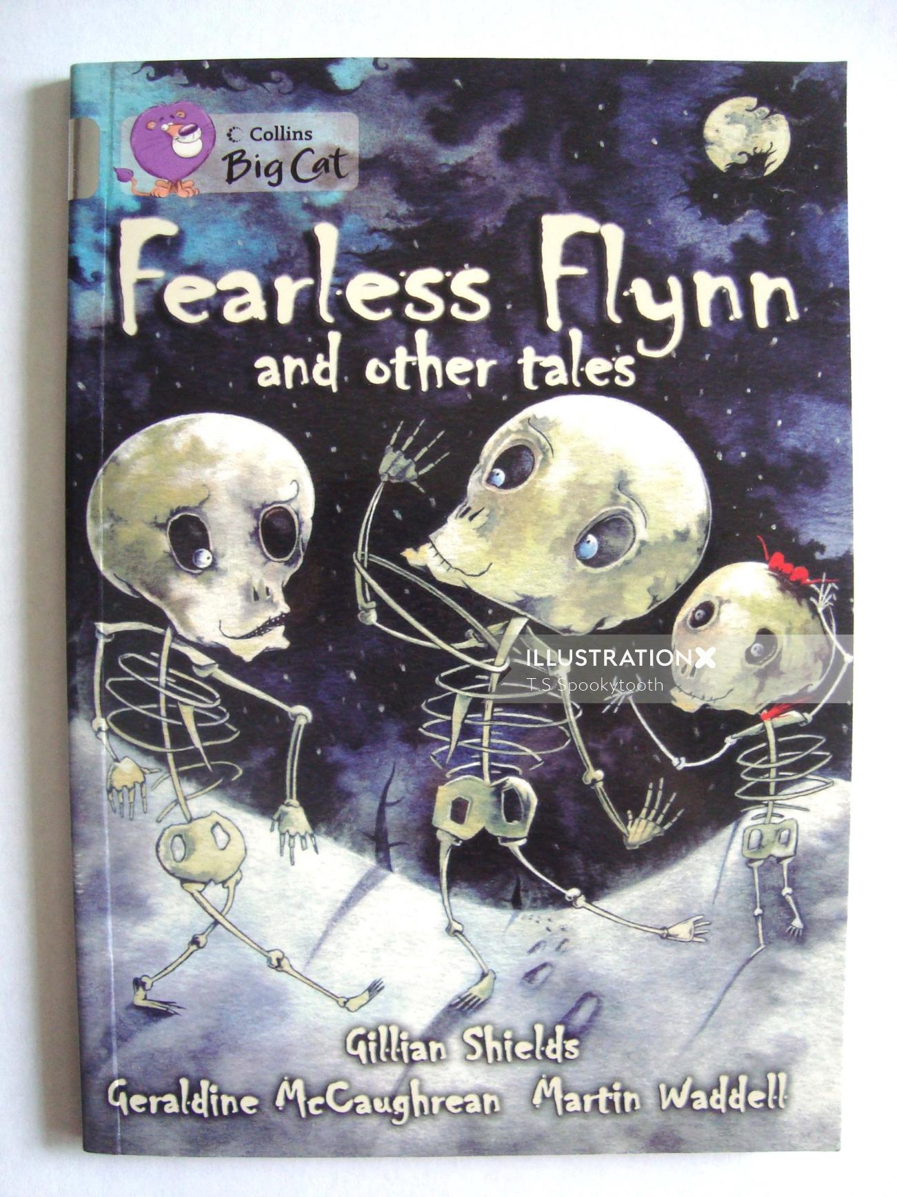Illustration for fearless flynn by T.S.Spookytooth