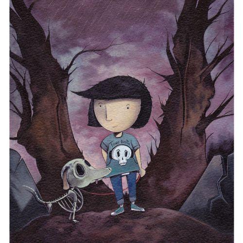 Illustration For Sally's Bones