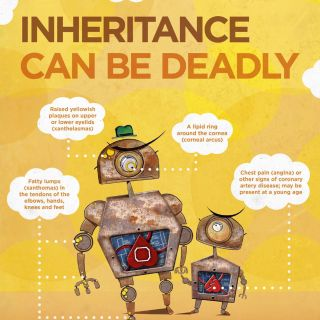 Health awareness ad campaign illustration by T.S Spookytooth