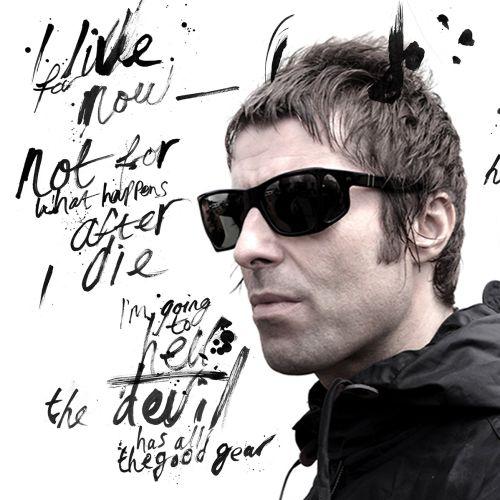 Contemporary Liam Gallagher