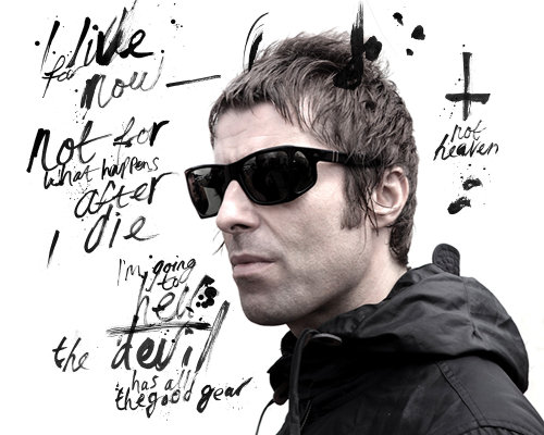 Contemporary Liam Gallagher
