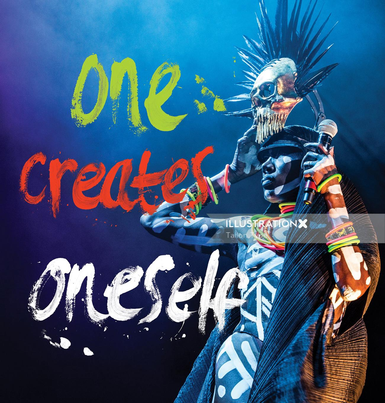 Once creates one self