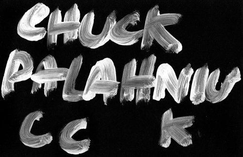 Lettering chuck palahniu