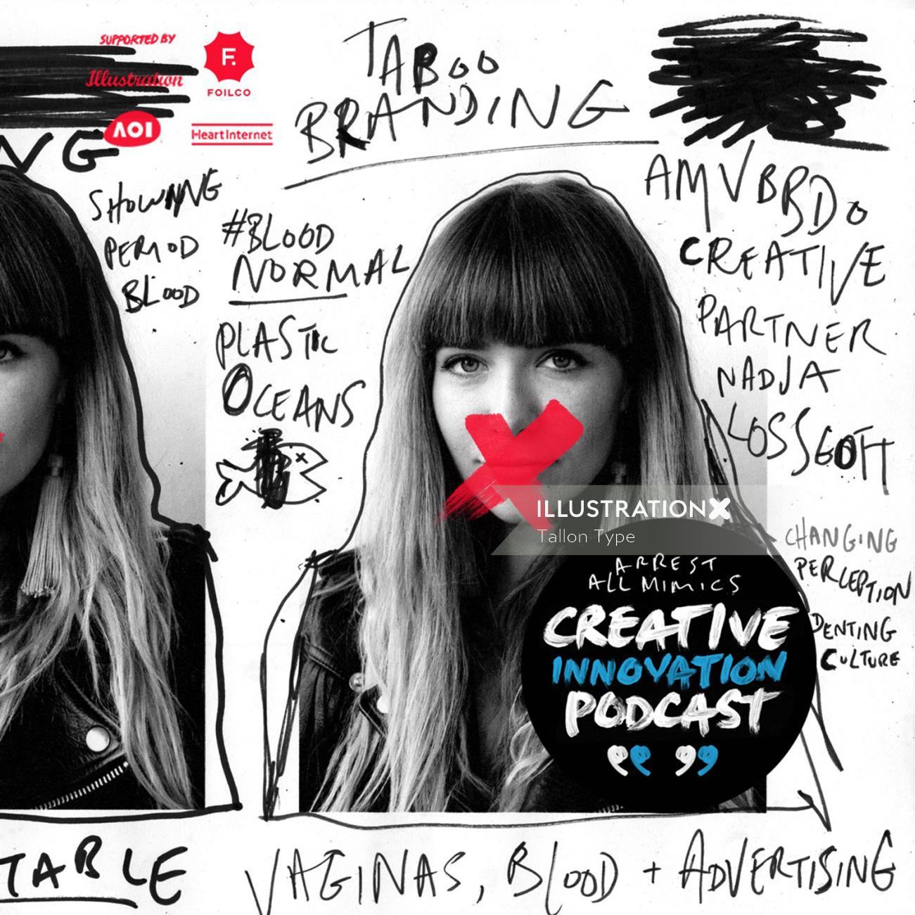 AMV BBDO creative director Nadja Lossgot