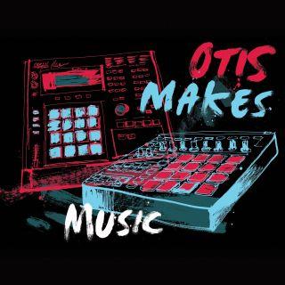 Otis makes music typography art