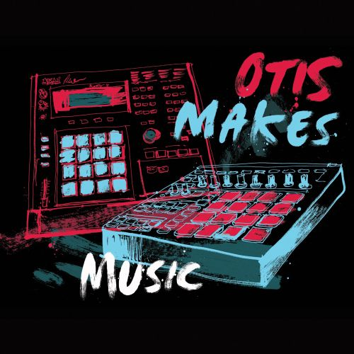 Otis makes music typography art