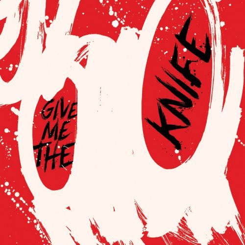 Give me the knife lettering art