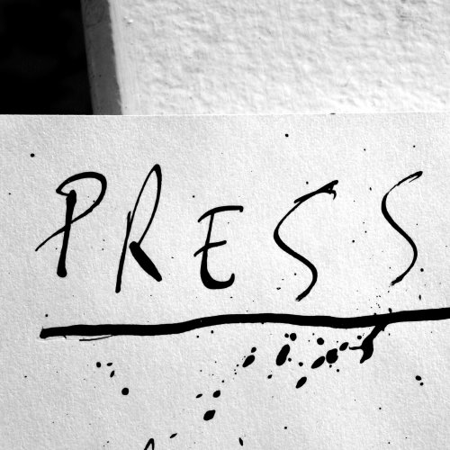 Press lettering art