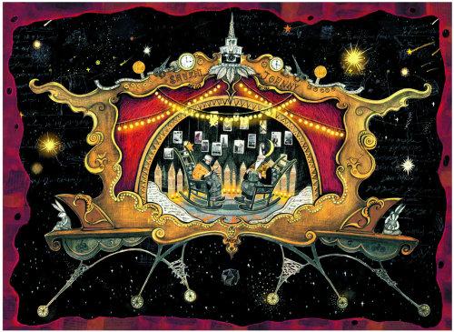 Show de ilustração de shuzhi johnny