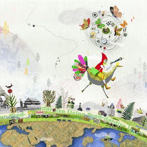 Children's book illustration of Total World Travel