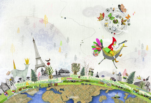 Ilustração de livro infantil da Total World Travel