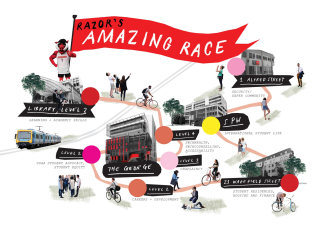 Illustration of Razor's race