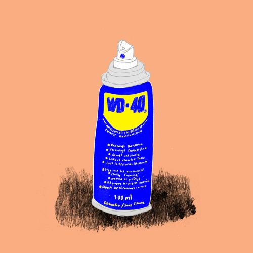 animation of spray can