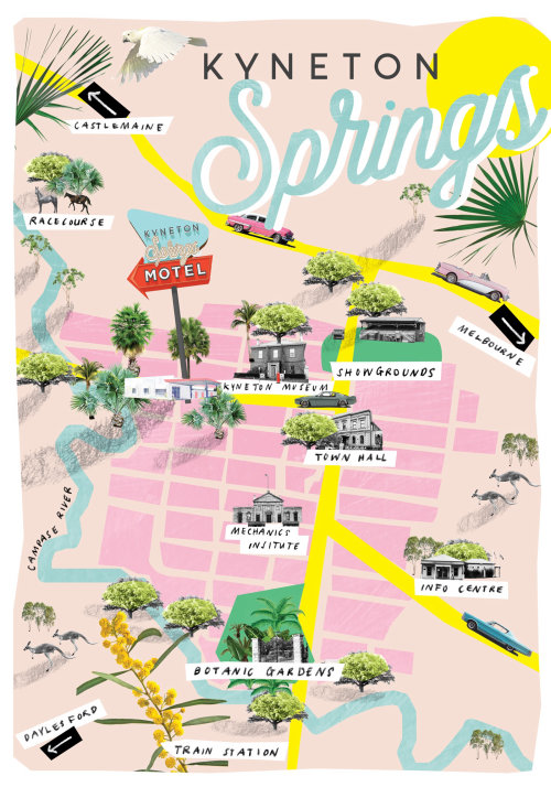 Maps of Kyneton Springs