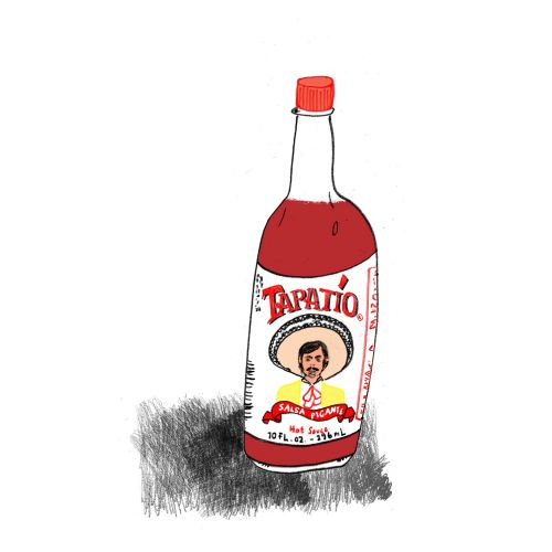 Food & Drinks Tapatio bottle