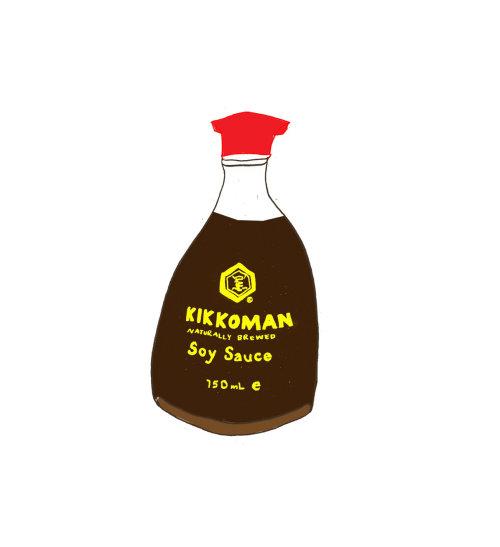 Comidas e bebidas Molho de soja Kikkoman
