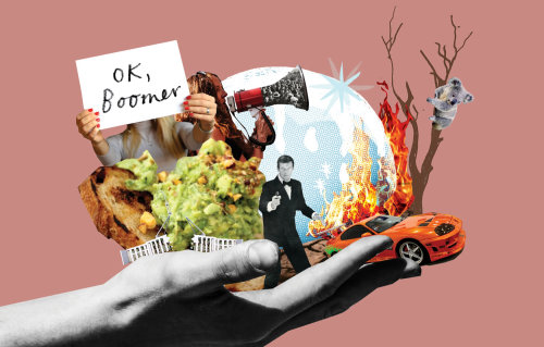Collage & Montage Graphic Ok Boomer