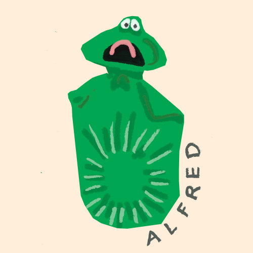 Cartoon & Humour Alfred monster