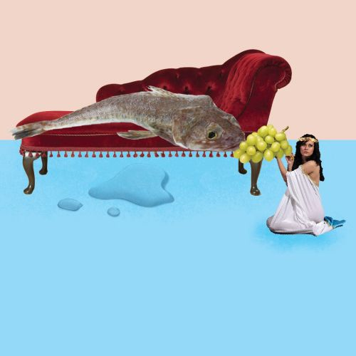 Collage & Montage Women feeding fish