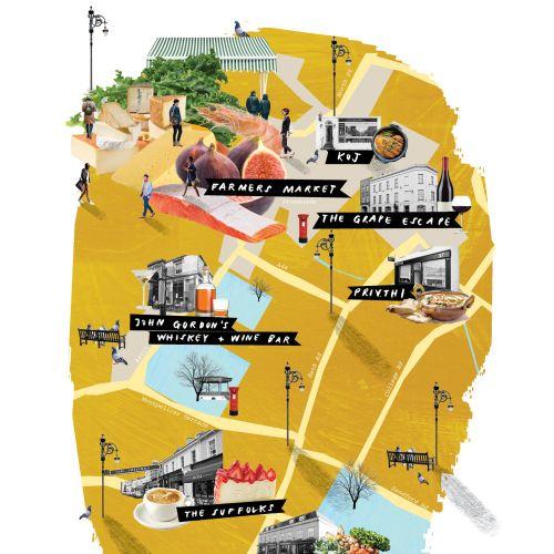 Maps John gordon bar