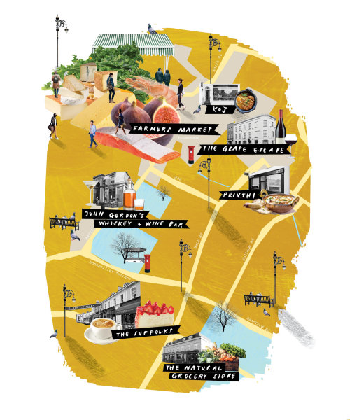 Barra John gordon do Maps