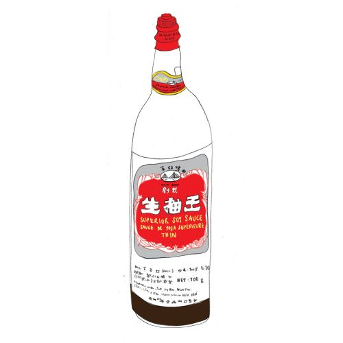Food & Drink Soysauce bottle