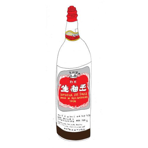 Food & Drink Soysauce bottle