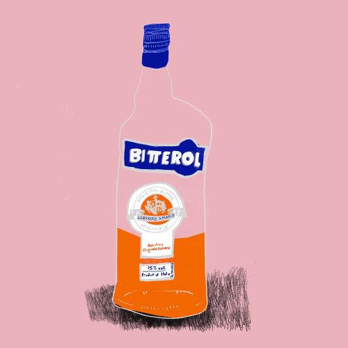 Desenho de Licor de Bitterol