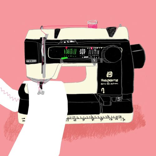 Animation of Sewing Machine