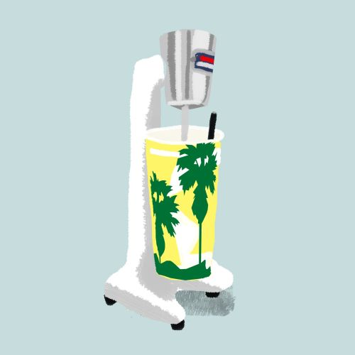 Animation juice maker