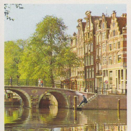Animation Amsterdam street