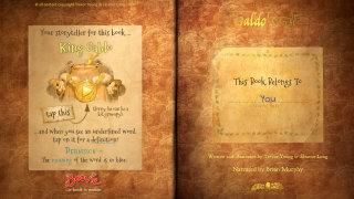 Galdo's gift book layout illustration
